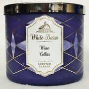 1 Bath And Body Works Wine Cellar Scented Large 3-wick Candle 14.5 Oz
