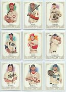 2012 Topps Allen And Ginters Ginterand039s Short Print Sp You Pick Finish Your Set