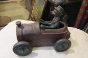 Nostalgic Andy Gump Cast Iron Car 348 Full Color Reproduction Very Heavy