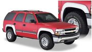 Bushwacker For 00-06 Chevy Tahoe Extend-a-fender Style Flares 4pc 4-door - Black