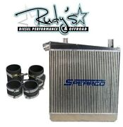 Turbonetics Spearco Intercooler/diesel Site Boot Kit Ford Powerstroke 6.4 08-10