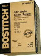 Stcr5019 9/16andrdquo Bostitch Powercrown Staples Case 10 Boxes