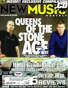 Josh Homme Signed Magazine Queens Of The Stone Age Psa/dna Ae95424