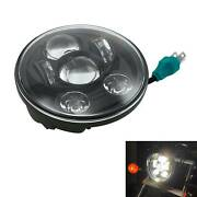 5-3/4 5.75 Projector Led Headlight Fit For Harley Sportster Xl 883 1200 Black