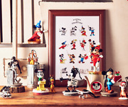 Limited Ornament Complete Set Mickey Mouse Screen Debut 90th Anniversary Disney