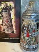 1995 Harley-davidson Roaring Into The 20and039s Gerz German Stein 255/500 Nib And Coa