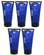 Curly Sexy Hair Curling Creme For Curl Definition 5.1 Oz Pack Of 5