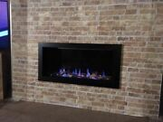 The Elite Anti Reflective Glass Fronted Hole In The Wall Gas Fire Remote Control