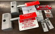 Two Alarm Lock 250-28 Electronic Panic U.l. Listed New In Box Never Used
