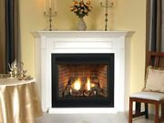 Premium 36 Tahoe Dv Ip Fireplace With Door Set And Frame Ng