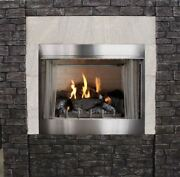 Empire Outdoor Premium 36 Traditional Mv Fireplace With Log Set Lp