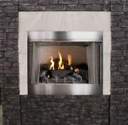 Empire Outdoor Premium 36 Traditional Mv Fireplace With Log Set Ng