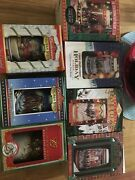 Lot Of 7 Budweiser Holiday Stein 94-97 And 01-02 And 04