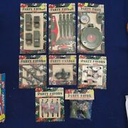 Lot Of 8 1998 Gi Joe Army Soldier Party Favors Hasbro Planes Trucks Dog Tags New