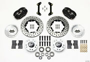 Wilwood Forged Dynalite Front Kit 11.00in Drilled 79-87 Gm G Body - Wil140-11009