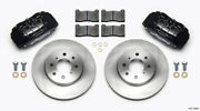 Wilwood Dpha Front Caliper And Rotor Kit For Honda / For Acura W/ 262mm Oe Rotor -