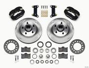 Wilwood Forged Dynalite Front Kit 11.88in 1 Pc Rotorandhub For Buick 1941-1956 - W