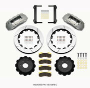 Wilwood Tx6r Front Kit 16.00in Clear Ano 1999-2014 Gm Truck/suv 1500 - Wil140-13
