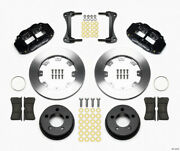 Wilwood Narrow Superlite 4r Front Kit 12.19in For 87-89 Jeep Yj - Wil140-12576