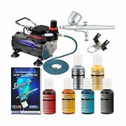 Professional Master Airbrush Cake Decorating Airbrushing System Kit With A 6