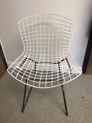 Authentic Vintage Knoll Harry Bertoia Wired Side Chair Mid Century Modern