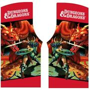 Dungeons And Dragons Side Art Dandd Arcade Game 3m Premium Film