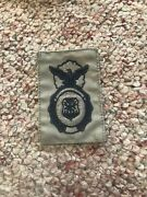 Us Air Force Usaf Military Police Badge Acu Sew-on Patch