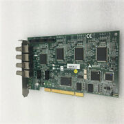 1pc Used Adlink Rtv-24 Pci-mp4s Image Acquisition Card