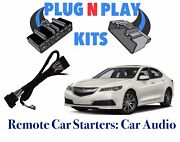 2015-2020 Acura Tlx Push To Start Plug And Play Remote Car Starter Uses Oem Remote