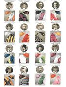 Cigarette Cards. Ogdens Tobacco.steeplechase Trainers Coloursset Of 50.1927