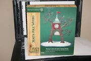Dept 56 Welcome To North Pole Woods Gateway Entrance New In Box