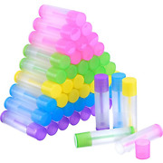 Lip Balm Empty Container Clear Tubes Cosmetic Makeup Jar Chapstick Bottle New