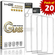 [20 Pack] Lot Tempered Glass Screen Protector For Samsung Galaxy S21/s20 Note 20