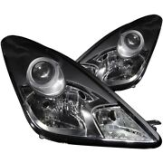 Anzo For 2000-2005 Toyota Celica Crystal Headlights Black - Anz121122