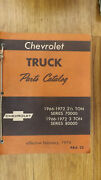 1966-1972 Series 70000, 80000 Chevrolet Truck Parts Catalog Manual Chevy W/body
