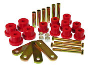 Prothane For 67-81 Chevy Camaro Hd Spring And Shackles Bushings - Red - Pro7-1050