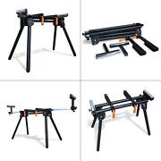 750 Lb. Capacity Universal Miter Saw Stand Powdercoated Universal Foldable Tool