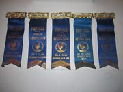 9 1914 Poultry Show Ribbons - Cuyahoga Falls Ohio - Authentic - Ofc-c