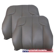 2001 02 Jeep Grand Cherokee Limited Gas D. P. Lean Back Leather Seat Cover Gray