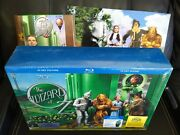Wizard Of Oz Ultimate Collectors Lot Limited Editions Blu-ray Dvd+watch+puzzle++