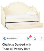 Used Girls Bedroom Set Pottery Barn Daybed With Trendal.  Excellent Condition
