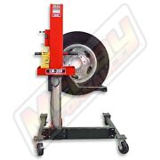 Lift-mate Lm-350 Mobile Tire And Wheel Lift Machine 300lb Capacity Made In Usa