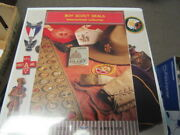 Worldwide Boy Scout Collection Of 100s Of Decals, Stickers, Seals, Cigar Labels