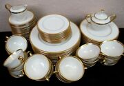 Lenox Tuxedo Dishes Plates Cups And Saucers Sugar Bowl - By The Piece