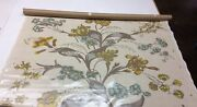 Christopher Farr Cloth Flower Show Honey Laminated Coated Fabric 1 Yard 52w