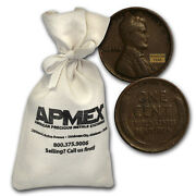 1909-1919 Wheat Cent 1000 Count Bags - Sku 51099