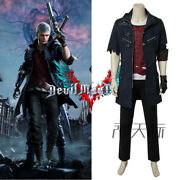 Devil May Cry V Dmc5 Nero Uniform Cosplay Costume Outfit Full Suit Unisex Jacket