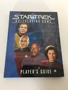 Star Trek Playerand039s Guide Hardcover Hc Decipher Role Playing Game Rpg Book 2002