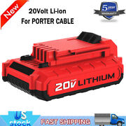 20v For Porter Cable Pcc685l 20v Max Lithium Ion Battery Pcc680l Power Tools New