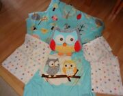 Circo Love N Nature Owl Squirrel Trees Gender Neutral Twin Bed Bedding Set
